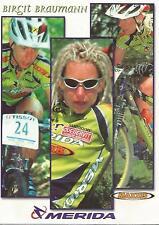 Cyclisme, ciclismo, radsport, wielrennen, cycling, BIRGIT BRAUMANN