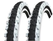 2 piezas Kenda 26 PULGADAS Neumáticos negro/blanco 26x1.95 (50-559) MTB Cubierta