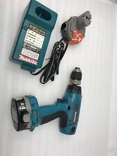 Makita 6337D 1/2 inch 14.4 Volt Drill Driver + DC1413 Charger 2 Batteries 14.4V