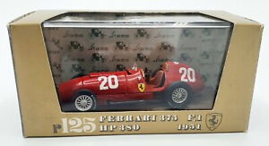 EBOND Modellino Ferrari 375 F.1. HP 380 1951 Brumm R125 S032.
