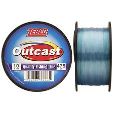 Zebco Outcast Monofilament 10 pound test 300210 10 lbs 475 yards