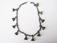 RARE ANCIENT Bronze Female Decoration Bells on Chain Penkovka Culture 6 - 8 AD