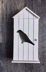 Wooden Key Holder, Bird Silhouette