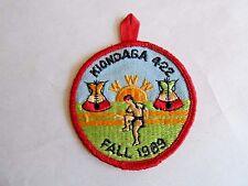 Vintage Fall 1969 Kiondaga 422 OA Boy Scout Order of the Arrow WWW Tab Patch