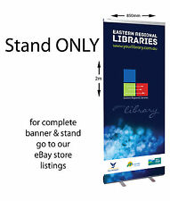 Retractable Pull up stand for banners 2000x850mm STAND ONLY