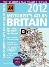 Very Good, Motorist Atlas Britain 2012 (Road Atlas), AA Publishing, Book