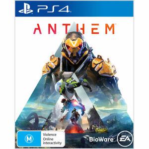 Anthem Playstation 4 PS4 Game Australian PAL Version Like New