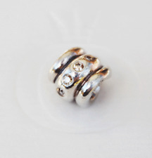 Gen. Pandora Charm Ribbed Twist Love Knot with Champagne CZ - 790328CCZ retired