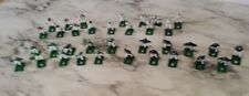 35 Vintage Tudor Electric Football Game Lot NFL Hard Plastic Painted Players