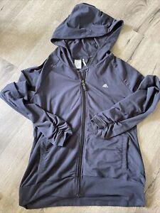womens adidas climalite jacket size L