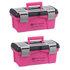 2 X Multifunktionale Aufbewahrungskoffer Toolbox Kunststoff
