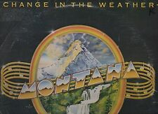 "MONTANA 12"" 33rpm LP CHANGE IN THE WEATHER 1981 WATERHOUSE #14 VG RARE!"