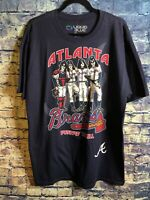 Atlanta Braves Liquid Blue Kiss Dressed to Kill T-Shirt Blue XL NWT🔥free Shipp
