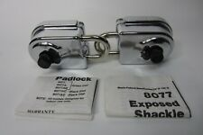 2 New Sargent Greenleaf Military Exposed Shackle High Security Padlock