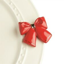 Nora Fleming Hand-Painted Mini: Wrap It Up (Wrapping Bow) A238