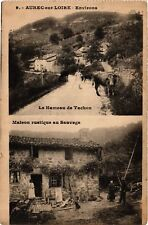 CPA  Aurec-sur-Loire - Environs - Le Hameau de Tachon - Maison  (690499)