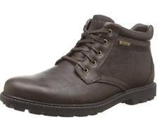 Rockport Rugged Bucks Waterproof, Men Desert Boots, Brown Size UK 7