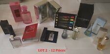 Lot de 12 pièces - miniature - Coffret  - échantillon -sur le parfum -Collection