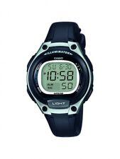 Casio Kinderuhr Damenuhr Uhr Schwarz Digital Alarm LW-203-1AVEF