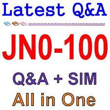 Juniper Networks Certified Internet Associate JNCIA JN0-100 Exam Q&A PDF+SIM