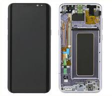 Original Samsung Galaxy S8 Plus G955F LCD AMOLED Display Touchscreen Orchid Grau