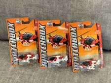 Lot of 3 Mission Helicopter MBX Heroic Rescue