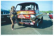 """Vintage Drag Racing-""""LITTLE RED WAGON""""-Sox & Martin-1989 Mopars At Englishtown"""