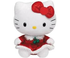 Peluche Hello Kitty - Collection Noël - Robe Rouge