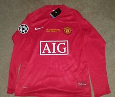 Cristiano Ronaldo Manchester United 2008 Moscow Champions League Final Jersey