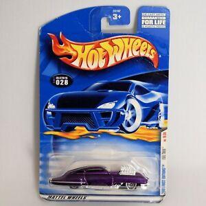 Hot Wheels 2001 First Editions Evil Twin 16/36 Purple Diecast Car 28747