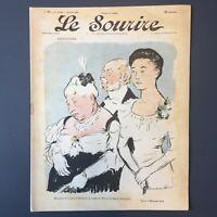 Le Sourire N°43 du 18 Aout 1900