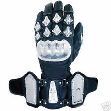 Guanti nero da corsa per motociclista taglia XL