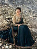 Prachi Indian Sari Wedding Party Pakistani Saree Designer Bridal Bollywood Wea