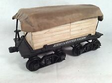 JIM BEAM REGAL CHINA TRAIN LUMBER CAR DECANTER