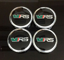 Wheel Center Caps 60mm Badge Set 4pcs VRS Skoda