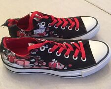"""CONVERSE Dr Seuss """"How The Grinch Stole Christmas"""" Sneakers Womens 7 - DAMAGED"""
