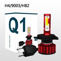 H4/9003/HB2 Q1 LED Phare de Voiture 50W 8000LM COB Ampoules Kit Hi/Lo Beam 6000K