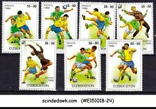UZBEKISTAN - 1999 FOOTBALL / SOCCER - 7V - MINT NH