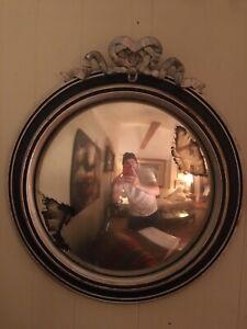 Mid Century Convex Antique Mirror