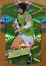 2010 NRL SELECT CHAMPIONS RAIDERS TROY THOMPSON JERSEY DIE CUT JDC39 FREE POST