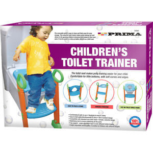 Baby Toddler Training Toilet Seat Safety Potty Step Ladder Loo Trainer System UK