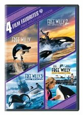 4 Film Favorites: Free Willy 1-4 (DVD,2010)