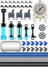Lego Pneumatic AIR METER Blue Kit (air,tank,cylinder,pump,tube,manometer,switch)