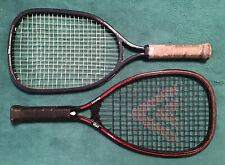Vintage racquetball racquets, lot of 2, Voit Ultima I Graphite, Wilson Champion