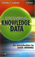 Discovering Knowledge in Data: An Introduction to Data Mining