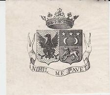 § EX-LIBRIS DU GÉNÉRAL EUGÈNE D'ASTORG (1787-1852) - LANGUEDOC §