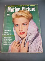 Vintage 1955 March MOTION PICTURE Magazine Full Issue GRACE KELLY Cover