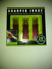sharper image 9 led shotgun shell flashlight
