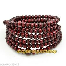 Great Sandalwood 6mm Prayer Beads Buddha Mala Buddhist bracelet necklace 216pc
