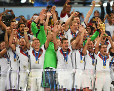Germany 2014 Unsigned World Cup 8x10 Photo Klose, Kroos, Mueller, Neuer, Lahm